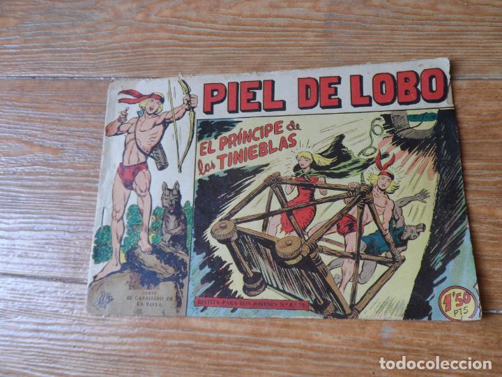 PIEL DE LOBO Nº 25 EDITORIAL MAGA ORIGINAL (Tebeos y Comics - Maga - Piel de Lobo)