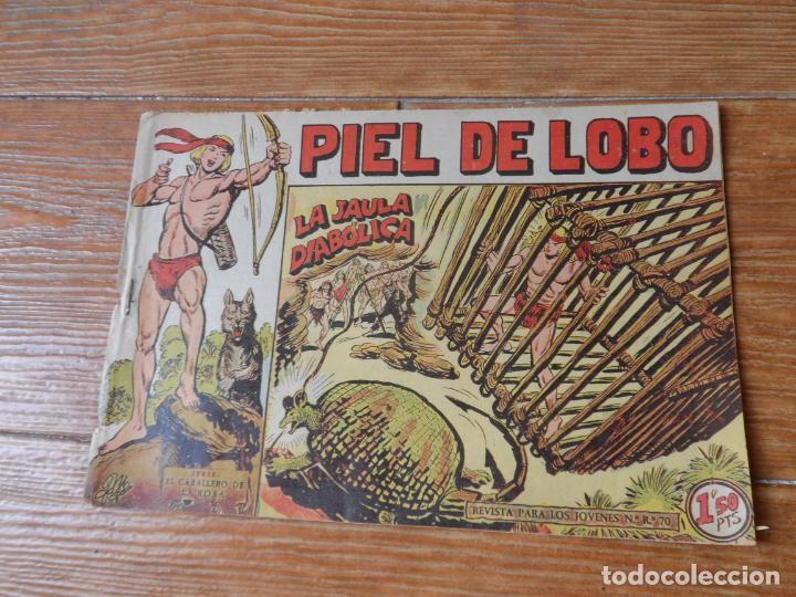 PIEL DE LOBO Nº 21 MAGA ORIGINAL (Tebeos y Comics - Maga - Piel de Lobo)