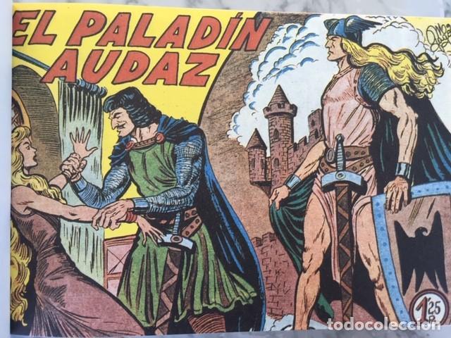 Tebeos: EL PALADIN AUDAZ, fascimil, completa, encuadernada - Ed. Maga - Foto 2 - 194225823