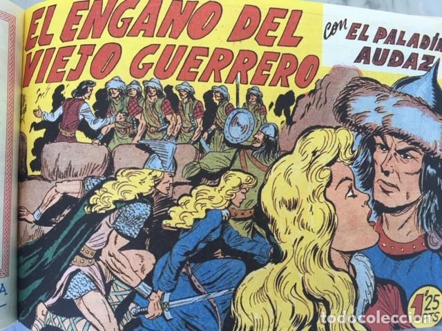 Tebeos: EL PALADIN AUDAZ, fascimil, completa, encuadernada - Ed. Maga - Foto 3 - 194225823