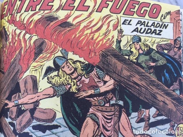 Tebeos: EL PALADIN AUDAZ, fascimil, completa, encuadernada - Ed. Maga - Foto 5 - 194225823