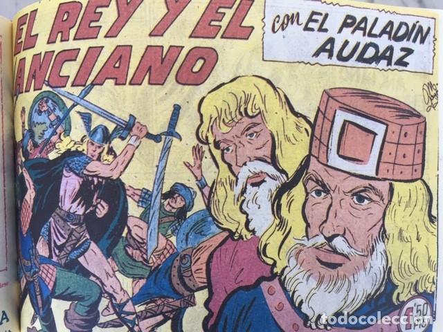 Tebeos: EL PALADIN AUDAZ, fascimil, completa, encuadernada - Ed. Maga - Foto 6 - 194225823