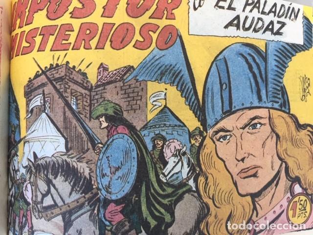 Tebeos: EL PALADIN AUDAZ, fascimil, completa, encuadernada - Ed. Maga - Foto 7 - 194225823