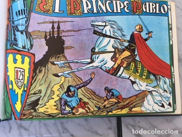 Tebeos: EL PRINCIPE PABLO - Fascimil, completa, encuadernada - Ed. Maga - Foto 2 - 194226681