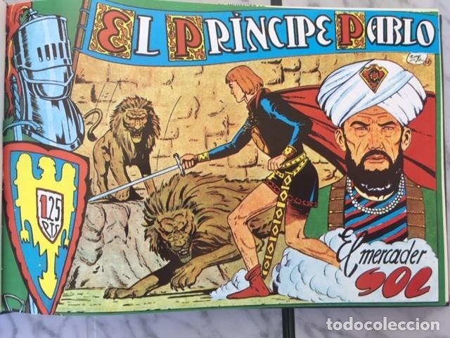 Tebeos: EL PRINCIPE PABLO - Fascimil, completa, encuadernada - Ed. Maga - Foto 3 - 194226681