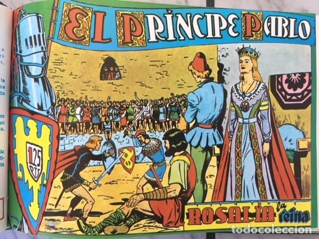 Tebeos: EL PRINCIPE PABLO - Fascimil, completa, encuadernada - Ed. Maga - Foto 4 - 194226681