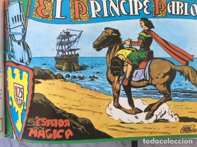 Tebeos: EL PRINCIPE PABLO - Fascimil, completa, encuadernada - Ed. Maga - Foto 6 - 194226681