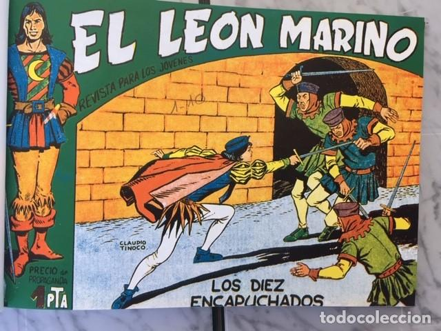 Tebeos: EL LEON MARINO - Fascimil, completa, encuadernada - Ed. Maga - Foto 2 - 194227717