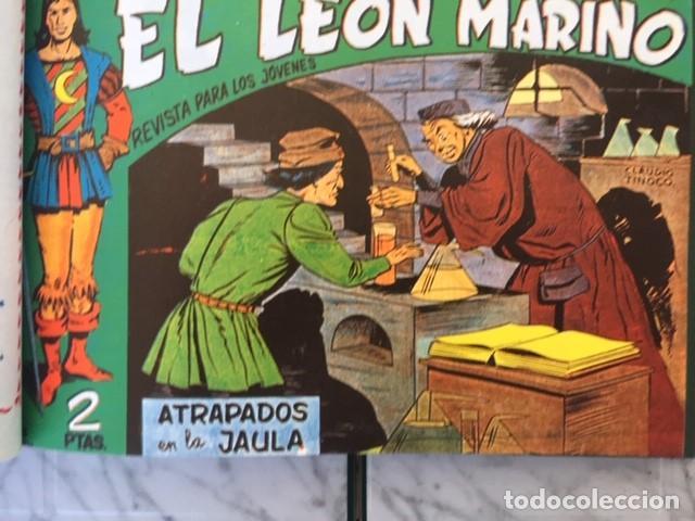 Tebeos: EL LEON MARINO - Fascimil, completa, encuadernada - Ed. Maga - Foto 3 - 194227717