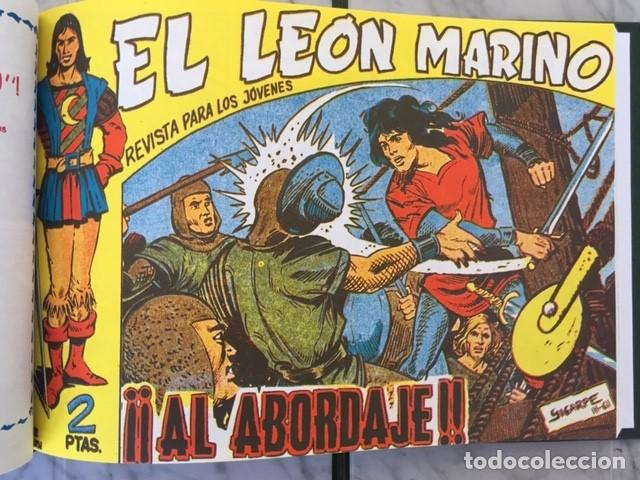 Tebeos: EL LEON MARINO - Fascimil, completa, encuadernada - Ed. Maga - Foto 4 - 194227717