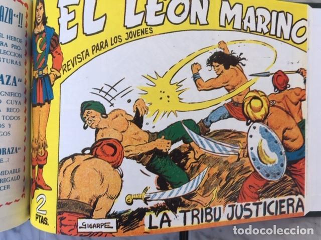 Tebeos: EL LEON MARINO - Fascimil, completa, encuadernada - Ed. Maga - Foto 5 - 194227717