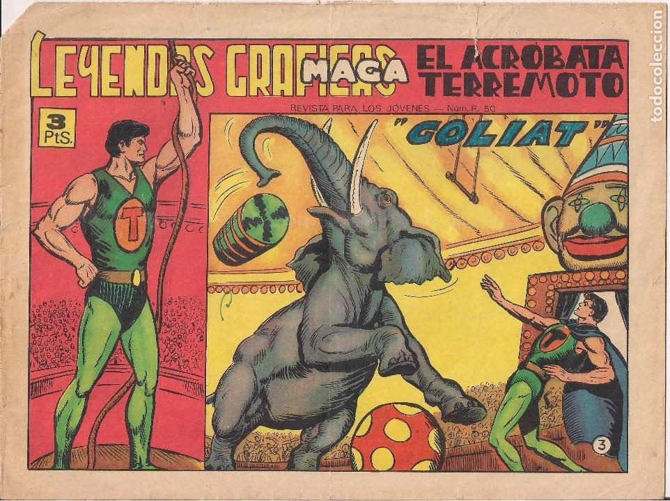 EL ACROBATA TERREMOTO Nº 3: GOLIAT (Tebeos y Comics - Maga - Otros)