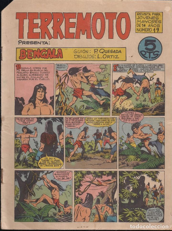 TERREMOTO Nº 19: BENGALA (Tebeos y Comics - Maga - Otros)