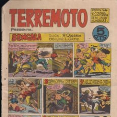 Tebeos: TERREMOTO Nº 22: BENGALA. Lote 194281013