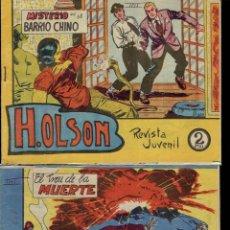Tebeos: 4 COMICS DE H.OLSON N,58,64,57 Y 2 EDITORIAL MAGA 1964. Lote 194281243