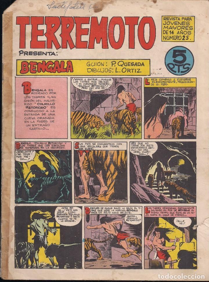 TERREMOTO Nº 25: BENGALA (Tebeos y Comics - Maga - Otros)