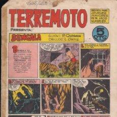 Tebeos: TERREMOTO Nº 25: BENGALA. Lote 194281303