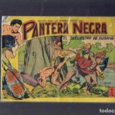 Tebeos: PANTERA NEGRA EL SECUESTRO DE SUSANA N,44 EDITORIAL MAGA 1958 Y PEQUEÑO PANTERA NEGRA N,281. Lote 194286325