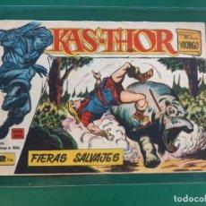 Tebeos: KAS-THOR EL VIKINGO Nº 40-ORIGINAL-DIFICIL. Lote 194304456