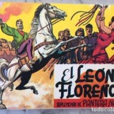 Tebeos: EL LEON DE FLORENCIA - SUPLEMENTO DE PANTERA NEGRA - COMPLETA, FASCIMIL EN UN CUADERNO -. Lote 194321876
