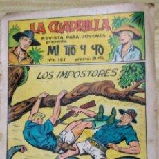 Tebeos: LA CUADRILLA MI TIO Y YO Nº 33 LOS IMPOSTORES ED .MAGA. Lote 194349823