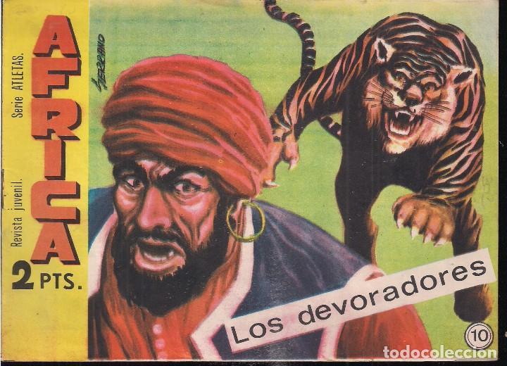 AFRICA Nº 10 (Tebeos y Comics - Maga - Otros)