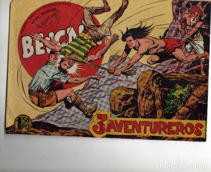 BENGALA 1ª ORIGINAL (Tebeos y Comics - Maga - Bengala)