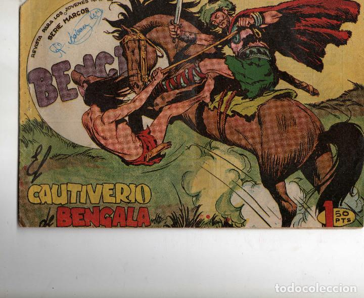 BENGALA 1ª Nº 43 ORIGINAL (Tebeos y Comics - Maga - Bengala)