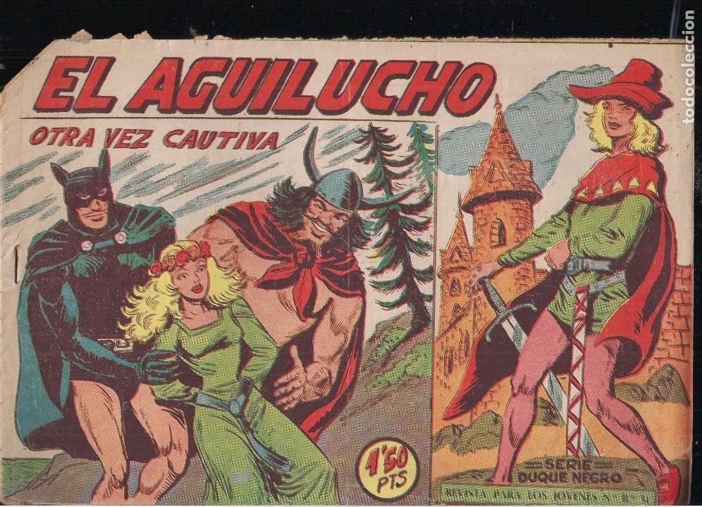 EL AGUILUCHO Nº 63 (Tebeos y Comics - Maga - Otros)