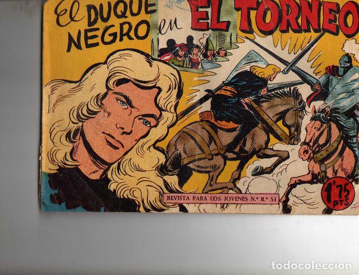 EL DUQUE NEGRO Nº 19 ORIGINAL (Tebeos y Comics - Maga - Otros)