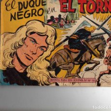 Tebeos: EL DUQUE NEGRO Nº 19 ORIGINAL. Lote 194894453