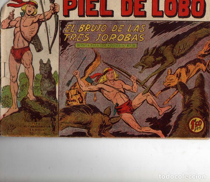 PIEL DE LOBO Nº 72, ORIGINAL (Tebeos y Comics - Maga - Piel de Lobo)