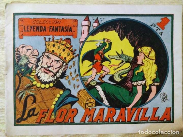 Tebeos: lote coleccion leyenda y fantasia 1, 4, 7 y 10 maga - Foto 2 - 194974773