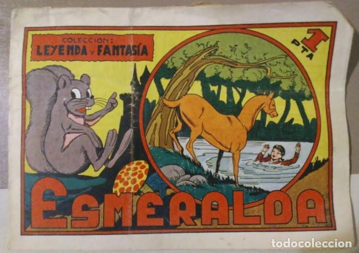 Tebeos: lote coleccion leyenda y fantasia 1, 4, 7 y 10 maga - Foto 3 - 194974773