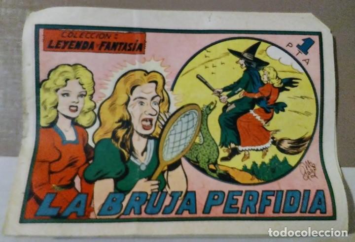 Tebeos: lote coleccion leyenda y fantasia 1, 4, 7 y 10 maga - Foto 4 - 194974773