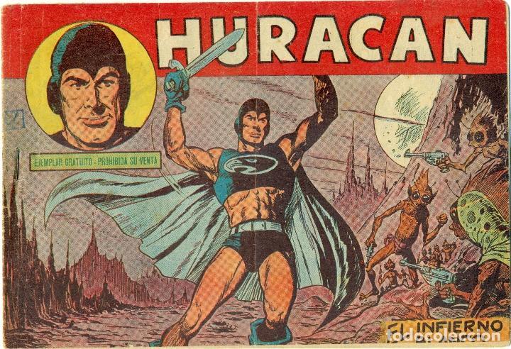 HURACAN DE MAGA COLECCION COMPLETA 20 EJEMPLARES ORIGINALES (Tebeos y Comics - Maga - Otros)