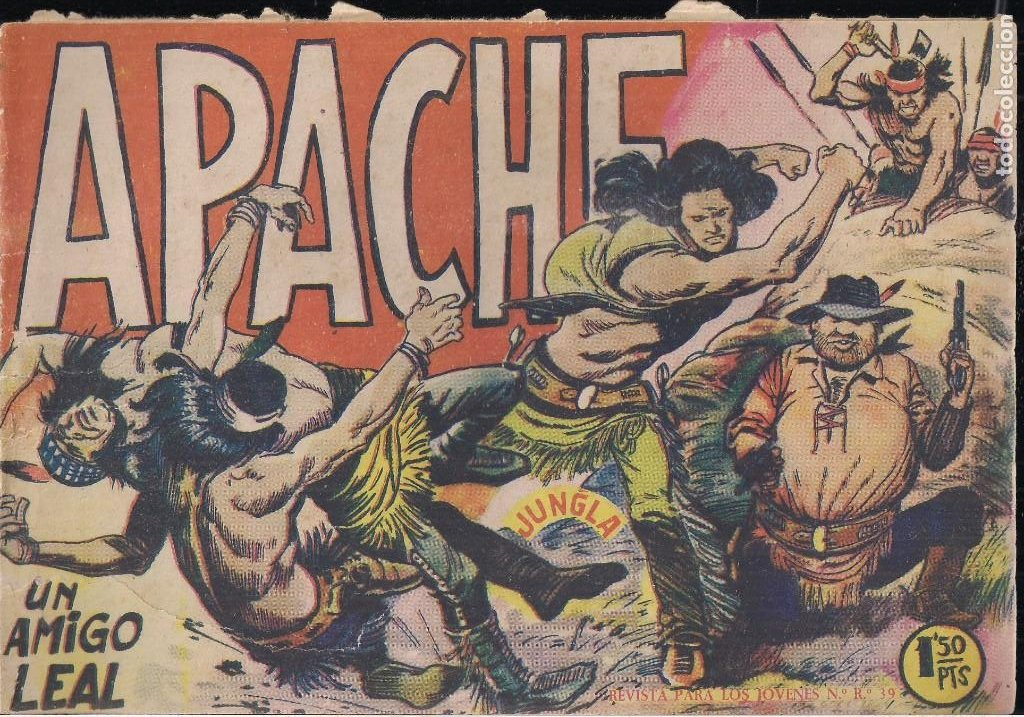 APACHE Nº 2 (Tebeos y Comics - Maga - Apache)