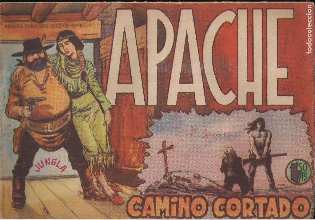 APACHE Nº 9 (Tebeos y Comics - Maga - Apache)