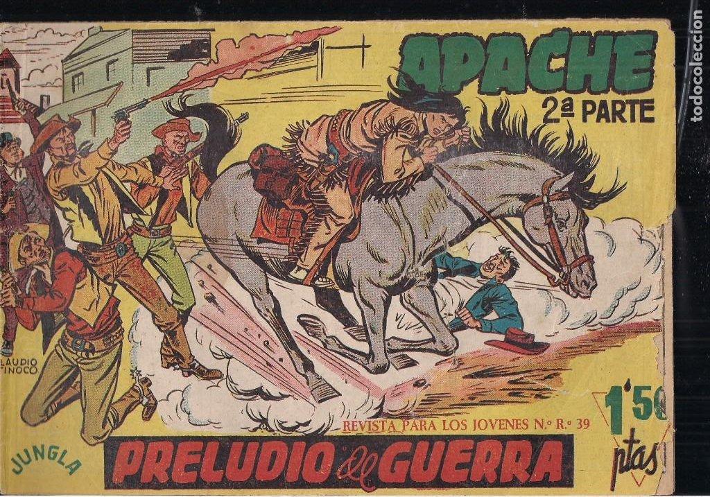 APACHE 2ª PARTE LOTE DE 39 EJEMPLARES (Tebeos y Comics - Maga - Apache)
