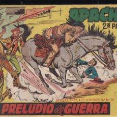 Tebeos: APACHE 2ª PARTE LOTE DE 39 EJEMPLARES. Lote 195189596