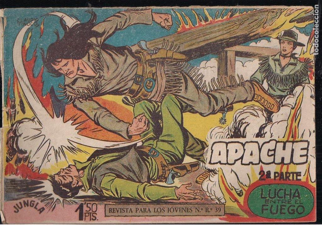 Tebeos: APACHE 2ª PARTE LOTE DE 39 EJEMPLARES - Foto 2 - 195189596