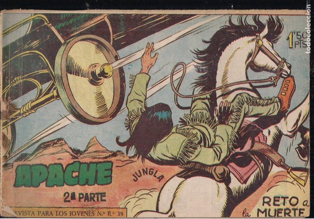 Tebeos: APACHE 2ª PARTE LOTE DE 39 EJEMPLARES - Foto 3 - 195189596
