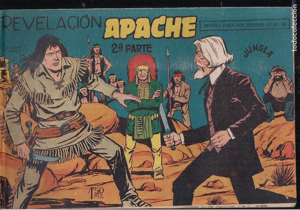 Tebeos: APACHE 2ª PARTE LOTE DE 39 EJEMPLARES - Foto 5 - 195189596
