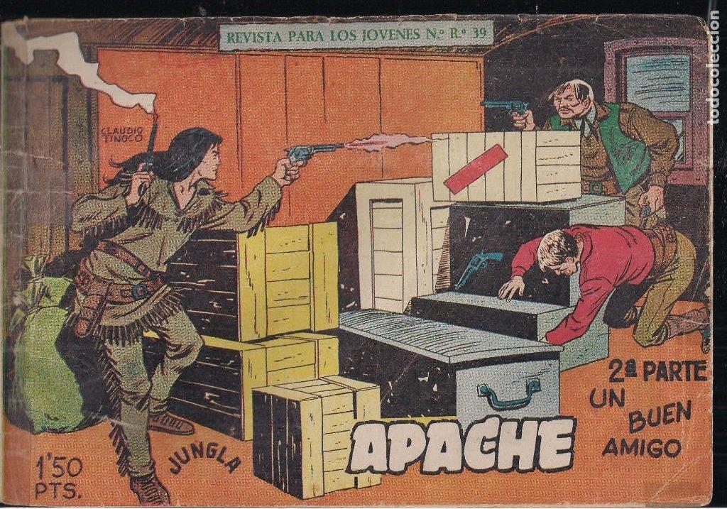 Tebeos: APACHE 2ª PARTE LOTE DE 39 EJEMPLARES - Foto 6 - 195189596