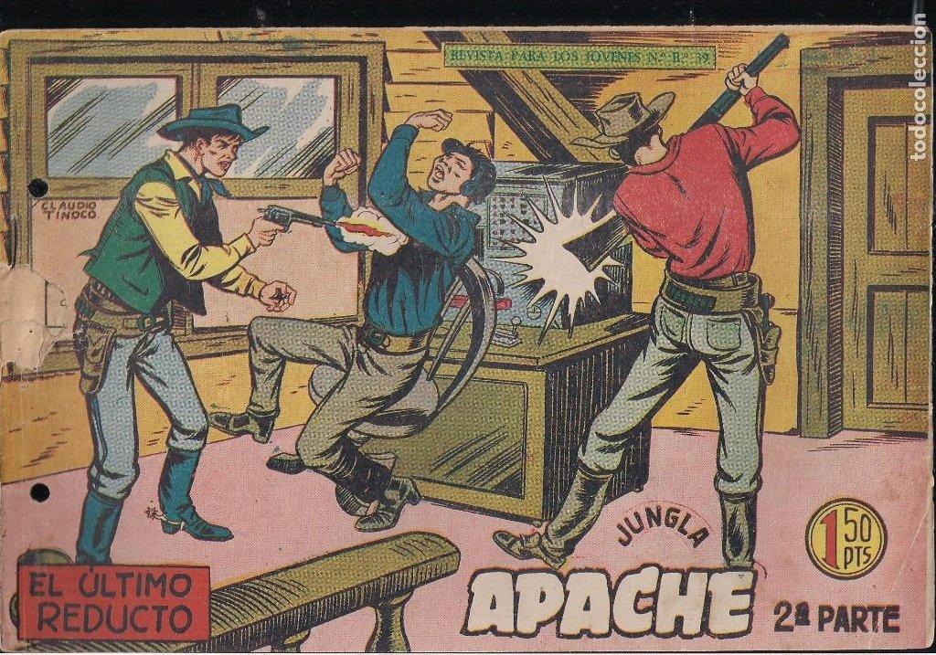 Tebeos: APACHE 2ª PARTE LOTE DE 39 EJEMPLARES - Foto 7 - 195189596