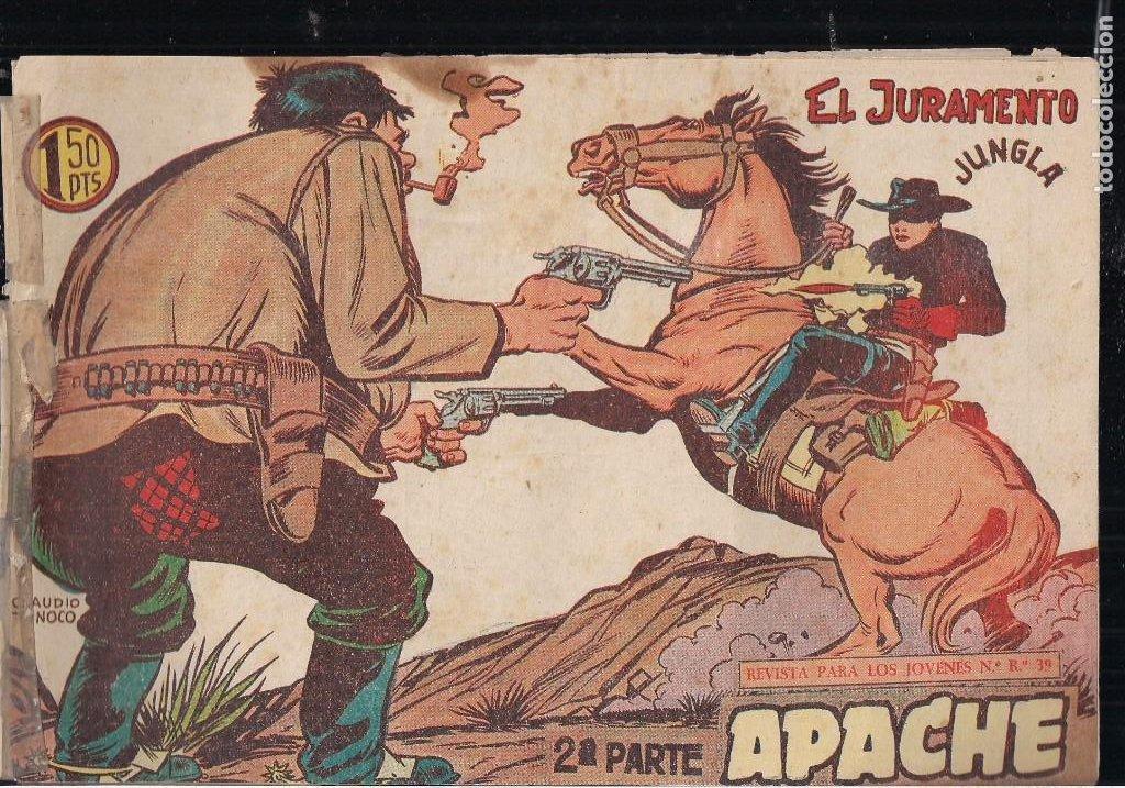 Tebeos: APACHE 2ª PARTE LOTE DE 39 EJEMPLARES - Foto 8 - 195189596