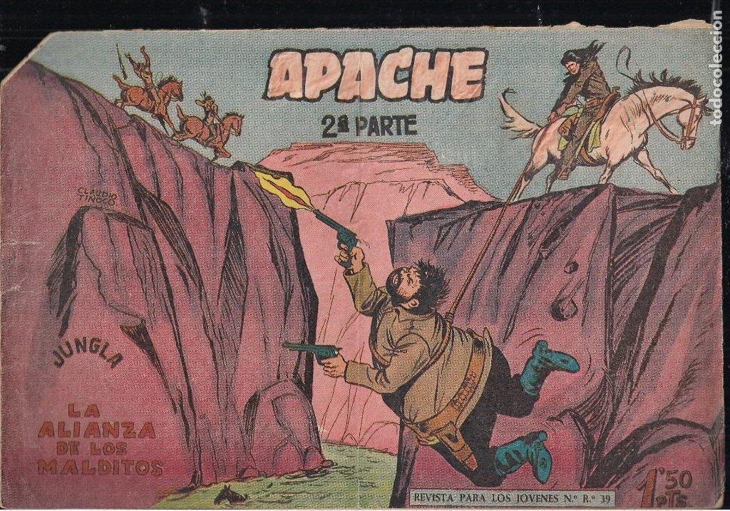 Tebeos: APACHE 2ª PARTE LOTE DE 39 EJEMPLARES - Foto 10 - 195189596