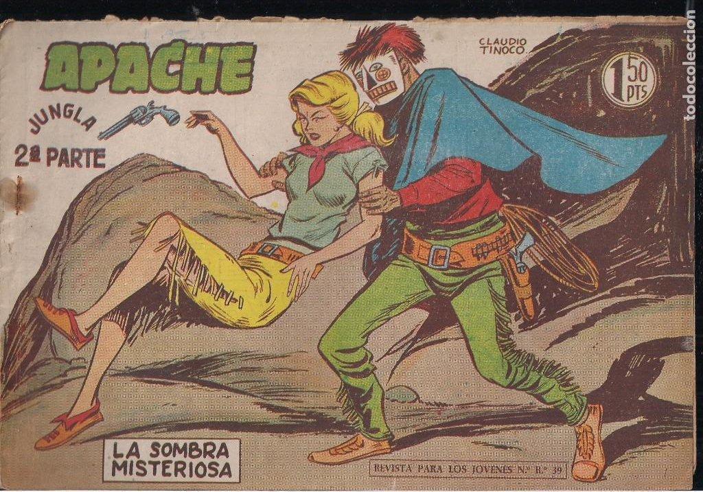 Tebeos: APACHE 2ª PARTE LOTE DE 39 EJEMPLARES - Foto 11 - 195189596