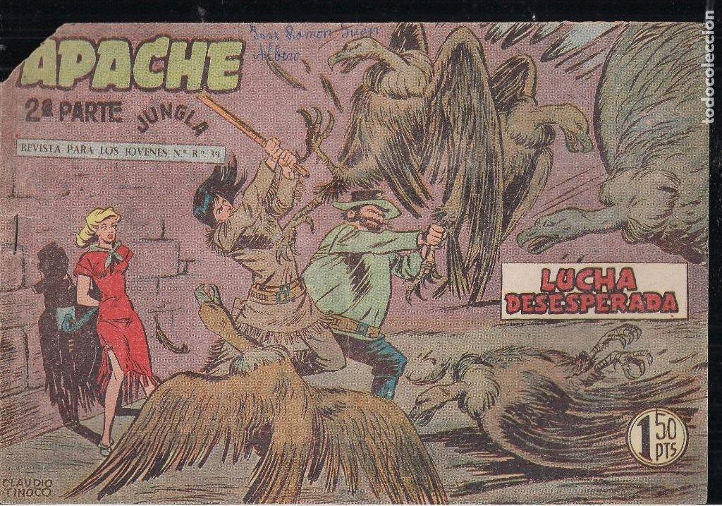 Tebeos: APACHE 2ª PARTE LOTE DE 39 EJEMPLARES - Foto 12 - 195189596