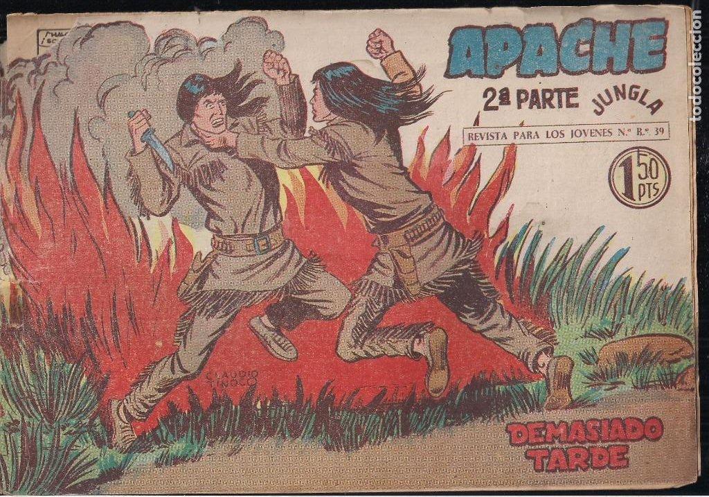 Tebeos: APACHE 2ª PARTE LOTE DE 39 EJEMPLARES - Foto 13 - 195189596